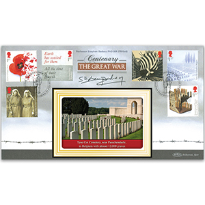 2017 WWI Stamps BLCS 2500 - Signed Prof. Stephen Badsey