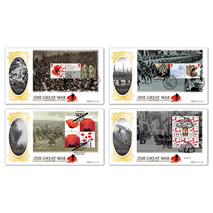 2017 WWI PSB BLCS - Set of 4