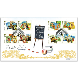 2017 Ladybird Books Stamps BLCS 2500 Signed Janet Ellis MBE