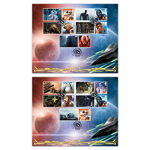 2017 Space Adventure Generic Sheet BLCS Pair