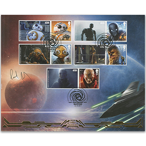2017 Space Adventures Generic Sheet BLCS Cover 1 - Signed Paul Bazely