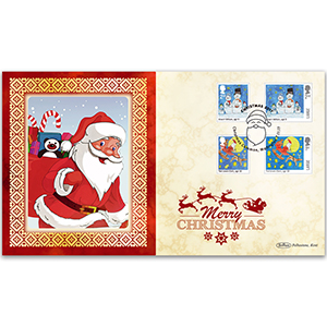 2017 Children's Christmas Stamps BLCS 5000
