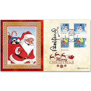 2017 Children's Christmas Stamps BLCS 5000 Signed Bob Harris OBE
