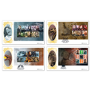 2018 Game of Thrones PSB BLCS - Set of 4