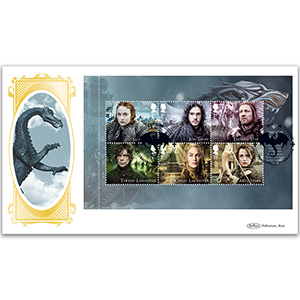 2018 Game of Thrones PSB BLCS Cover 1 - (P1) 1st x 6 PANE