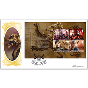 2018 Game of Thrones PSB BLCS Cover 2 - (P2) 1st x 4 OLENNA