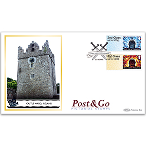 2018 Game of Thrones Post & Go Stamps - Benham BLCS 5000 Cover