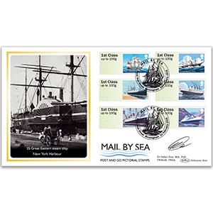 2018 Post & Go - Mail By Sea BLCS 2500 - Signed by Dr Helen Doe