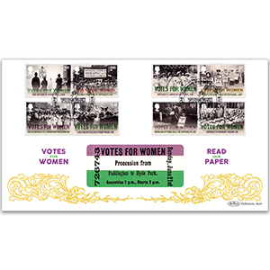 2018 Votes For Women Stamps BLCS 2500