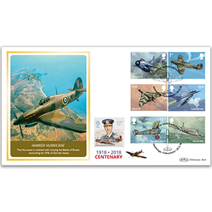 2018 RAF 100th Anniversary Stamps BLCS 5000