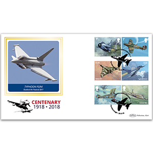 2018 RAF 100th Anniversary Stamps BLCS 2500