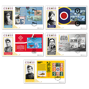 2018 RAF 100th Anniversary PSB BLCS 5000 Set of 5 Covers