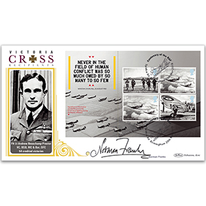 2018 RAF 100th Anniversary PSB BLCS 5000 Cover 4 - (P3) 4 x BoB 1st From 2015 - Signed Norman Franks