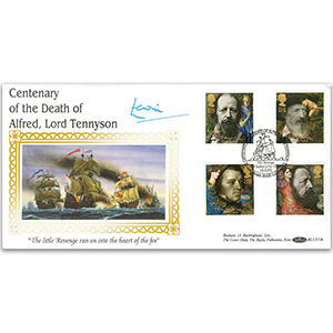1992 Tennyson Death Centenary BLCS - Signed by Admiral of the Fleet Lord Lewin