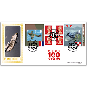 2018 RAF 100th Anniversary Retail Booklet BLCS 5000