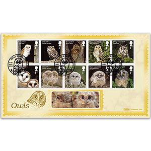 2018 Owls Stamps BLCS 2500
