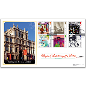 2018 Royal Academy of Arts 250th Stamps BLCS 5000
