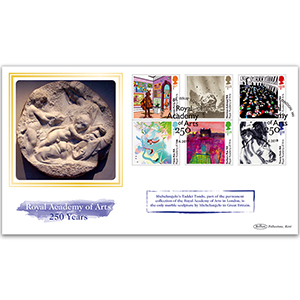 2018 Royal Academy of Arts 250th Stamps BLCS 2500