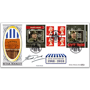 2018 Dad's Army Retail Booklet BLCS 2500 - Signed Harold Snoad