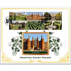 2018 Hampton Court Palace Stamps BLCS 5000
