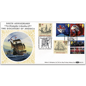1992 Europa: International Events BLCS - Christopher Columbus, Greenwich