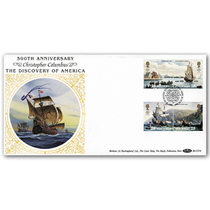 1992 Isle of Man Europa: Discovery of America BLCS - Douglas