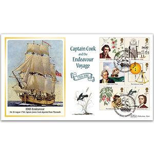 2018 Captain Cook Stamps BLCS 5000