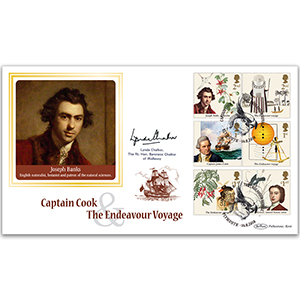 2018 Captain Cook Stamps BLCS 2500 - Signed Baroness Chalker of Wallasey