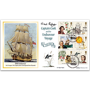 2018 Captain Cook Stamps BLCS 5000 - Signed Dr Nigel Rigby