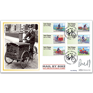 2018 Post & Go - Mail by Bike BLCS 5000 - Signed Rav Wilding