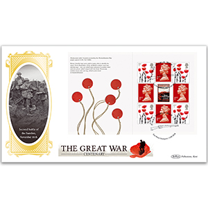2018 WWI PSB BLCS Cover 4 - (P4) Poppy Definitive Pane