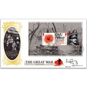 2018 WWI PSB BLCS Cover 1 - (P2) 3 x 1st Pane - Signed Miles Jupp