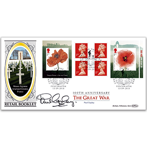 2018 WWI Retail Booklet BLCS 2500 Signed Paul Copley