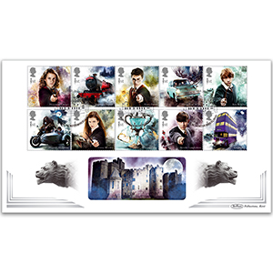 2018 Harry Potter Stamps BLCS 5000