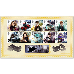 2018 Harry Potter Stamps BLCS 2500