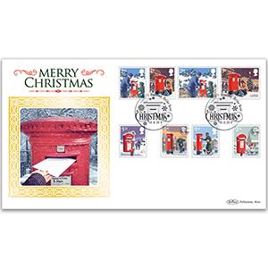 2018 Christmas Stamps BLCS 2500