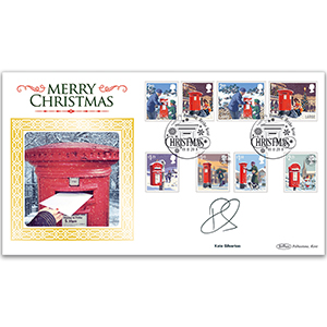 2018 Christmas Stamps BLCS 2500 - Signed by Kate Silverton