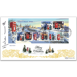 2018 Christmas M/S BLCS 2500 Signed Helen Worth