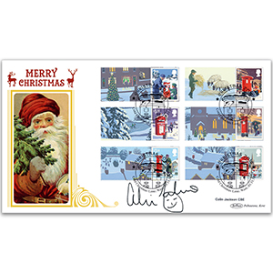 2018 Christmas Generic Sheet BLCS 5000 - Signed by Colin Jackson CBE