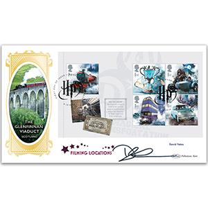2018 Harry Potter PSB BLCS Cover 2 - (P2) 5 x 1st Hogwarts Express Signed David Yates