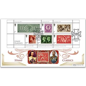 2019 Stamp Classics M/S BLCS 5000