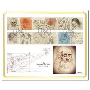 2019 Leonardo da Vinci Stamps BLCS 5000