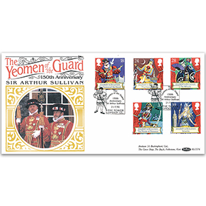 1992 Sir Arthur Sullivan 150th: Yeoman of the Guard BLCS