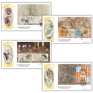 2019 Leonardo da Vinci PSB BLCS Set of 4