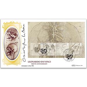2019 Leonardo da Vinci PSB Pane 3 - Signed by Christopher Le Brun PRA