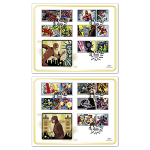 2019 Marvel Generic Sheet BLCS 5000 Pair of Covers