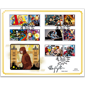 2019 Marvel Generic Sheet BLCS 2500 - Signed by Hayley Atwell