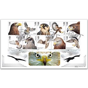 2019 Birds of Prey Stamps BLCS 5000