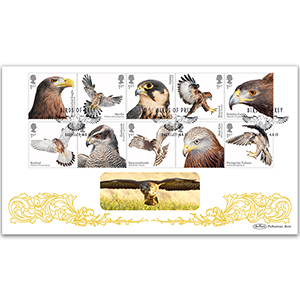 2019 Birds of Prey Stamps BLCS 2500