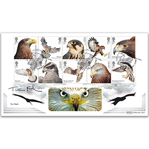 2019 Birds of Prey Stamps BLCS 5000 - Signed Tim Flach